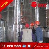 Hecho en el equipo del destilador del alcohol de la fabricación de la cerveza del acero inoxidable de China