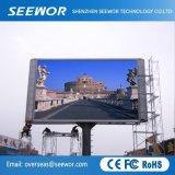 Широкий угол обзора P4.81мм фиксированный на открытом воздухе под руководством для рекламы на щитах