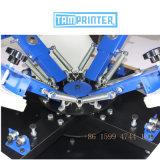 TM-R4 4 écran couleur 4 Station Textiles de l'impression de la machine pour T-Shirt chiffon