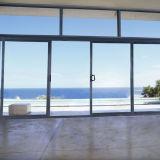 De Schuifdeur van het aluminium, de Deur van het Glas van het Aluminium