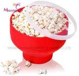 Küche-Silikon-faltende Popcorn-Filterglocke 20*20*14.2cm