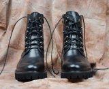 Talon de haute qualité de longues bottes en cuir pour hommes