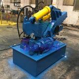 De hydraulische Scherpe Machine van de Buis van het Staal van het Afval