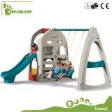 Oscilación de la diapositiva de los niños plásticos de la nueva y mejor calidad y diapositiva de interior