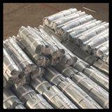 Alambre recto cortado hierro destemplado galvanizado/negro del lazo