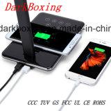 Caricatore senza fili veloce del telefono mobile con la lampada della Tabella del LED nessuno Storbe