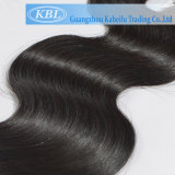 Noir naturel vierge brésilienne de meilleure qualité des cheveux humains