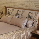 Современный новый дизайн деревянные кровати для использования с одной спальней (CH-602)