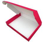 Rectángulo de papel acanalado plegable plano para la ropa/el empaquetado de papel plegable de los rectángulos de zapato