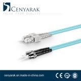 Om3 de 3 metros de cable de fibra óptica multimodo dúplex (50/125) Sc a St.
