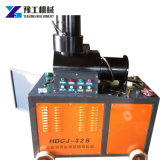 Manufacturer Construction Machinery Double Cylinder Rebar Upsetting Machine clouded