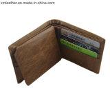 Оптовая торговля Premium Saffiano держателя карты из натуральной кожи мужчин Card Wallet