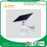 jardín al aire libre 9With12With18W que enciende la lámpara de calle solar del LED