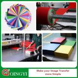 Hierro - en la PU de la hoja de corte del vinilo del traspaso térmico para la materia textil