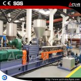 Jiangsu 능동태 병렬 두 배 나사 PP/PE+CaCO3 Pelletzing 압출기