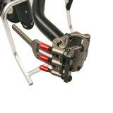 Rückseitige Rollstuhl-Rollstuhl-Zubehör Handbike DIY der Funktions-36V 350W elektrische Handcycle Konvertierungs-Installationssätze mit 36V 9ah Batterie
