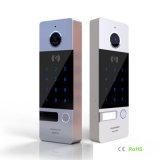 Le schede & la parola d'accesso di identificazione di sostegni di obbligazione domestica del campanello sbloccano il video Doorphone del citofono