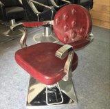 POINT antique de présidence de coiffeur piquant dénommant le matériel de salon de présidence
