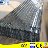 a espessura de 0.13mm corrugou a folha galvanizada metal Z60 do telhado