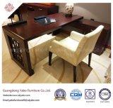 寝室の木のライティング・テーブル(YB-O-5)が付いている簡単なホテルの家具