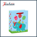 Выполненный на заказ цветастой напечатанные бумагой подарки младенца упаковывая хозяйственную сумку