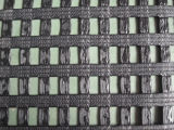 80/30kn cheLavora a maglia il poliestere rivestito Geogrid del PVC