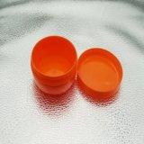 De oranje Brede Plastic Kruik van de Mond, HDPE Kosmetische Container, de Kruik van de Room