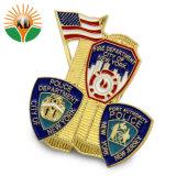 Cheap Esmalte Duro personalizado insignia de la Policía Militar