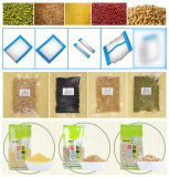 Cereal/sementes/feijões/máquina de empacotamento de enchimento automática do pesador Multihead da porca