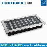Het vierkante LEIDENE 27X1wIP65 Waterdichte 220V LEIDENE Ondergrondse Licht van de Lamp