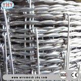 ' frontière de sécurité en acier galvanisée lourde de compensation de fil de bétail de la hauteur 5