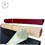 Palillos rojos clásicos del vidrio de fibra (poliester o synethic) para el difusor de lámina