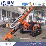 높은 회전하는 토크 Hf115y 크롤러 유압 드릴링 리그