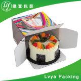 De grado alimentario de colores pastel ondulado caja de embalaje personalizado