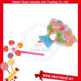 연약한 사탕 풍차 Lollipop를 자전하는 다채로운 자전 회전급강하