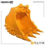 Escavadeira Rsbm peças para a Caterpillar Komatsu Escavadeira Volvo Pesado de padrão de limpeza de partes separadas do balde de rocha