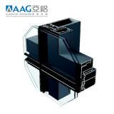 Aag ISO9001를 가진 알루미늄 유리제 외벽 시스템