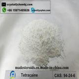 Tetracaine anestetico locale 94-24-6 di purezza di GMP 99% per l'analgesico