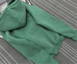 Camisola por muito tempo Sleeved de tamanho grande de Hoodie do pulôver das mulheres do lazer da forma