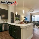 USA-populäre Qualitäts-künstlicher reiner weißer Küche-Steinquarz Worktop