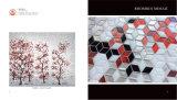 Mosaico de cristal del Rhombus para el azulejo de la pared