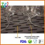 Тарелки силикона кухни фабрики циновка оптовой Drying