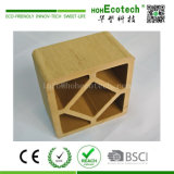 囲い、柵で囲むことのための120*120mm Huasu Eco WPCの木製の投稿