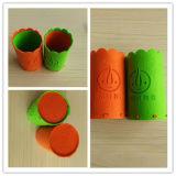 Sac fabriqué à la main de crayon lecteur de feutre/sac école de gosses/sac fabriqué à la main coloré de crayon lecteur de feutre