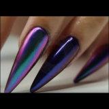Iris Unicorn espejo cromado Chameleon Glitter de pigmento de esmalte de uñas