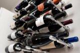 Fabrikdirekter AluminiumVino steckt an der Wand befestigte Wein-Stöpsel-Wein-Zahnstange fest