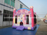 Pink Inflatable Jumping Castle王女