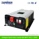1KW a 12 kw Grade Desligado híbrido com Inversor de Energia Solar MPPT Controlador de Carga Solar