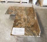 Fusion Quartzite полированной плитки&слоев REST&место на кухонном столе