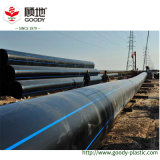 PE100 de HDPE Tubería y conexiones para abastecimiento de agua y riego de tierras de cultivo/Medios de transporte de gas
